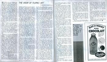 The Vigor of Filipino Art