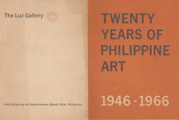 Twenty Years of Philippine Art 1946—1966 — Exhibition Brochure