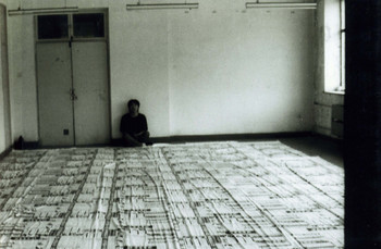 Wang Youshen's Works In Preparation for the New Generation Art Exhibition (Set of 4 Photographs)