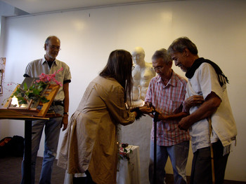 Book Launch of Inscapes: The Art of Agnes Arellano (Set of 5 Photographs)