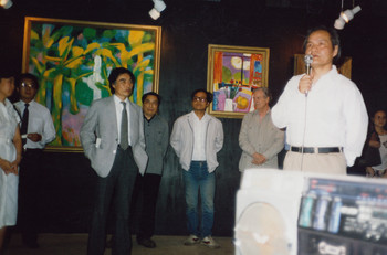 The Opening of Gallery of Shanghai Theatre Academy (Set of 3 Photographs)