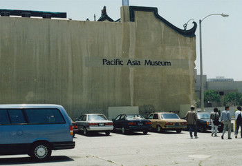 Visiting Pacific Asia Museum (Set of 12 Photographs)
