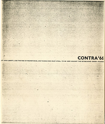 CONTRA'66 (Number 1)