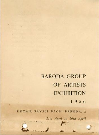 Baroda Group of Artists Exhibition, 1956 — Catalogue