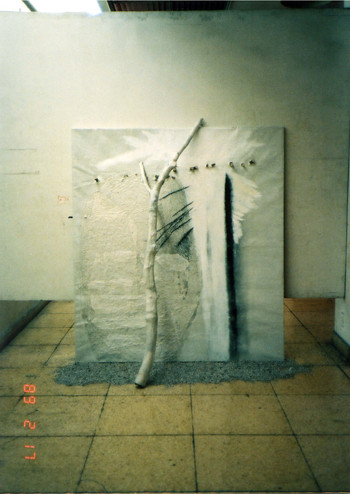 Works by Zhang Jianjun at China/Avant-Garde Exhibition (Set of 2 Photographs)