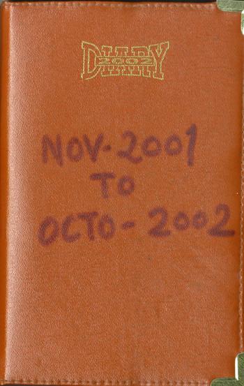 Diary of Jyoti Bhatt (2001–2002)