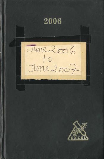 Diary of Jyoti Bhatt (2006–2007)