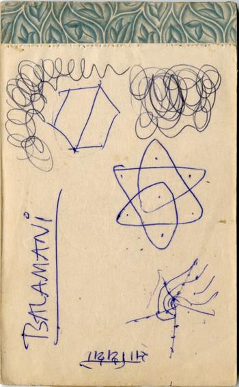 Diary of Jyoti Bhatt (Undated)