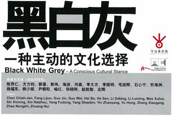Black White Grey — A Conscious Cultural Stance — Leaflet