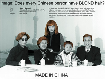 Made in China: Can You Imagine if Every Chinese had Blond Hair?