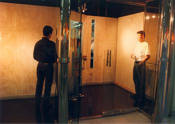 Permanent Collection (Exhibition Preparation) (Set of 4 Photographs)
