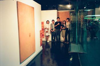 Flesh (Exhibition Opening) (Set of 4 Photographs)