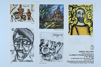 An Exhibition of Paintings and Drawings by F. N. Souza