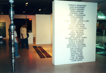 True Confessions: Words, Thoughts, Acts (Set of 35 Exhibition Views)
