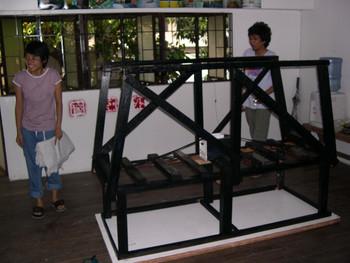 Under Construction (Exhibition Preparation) (Set of 17 Photographs)