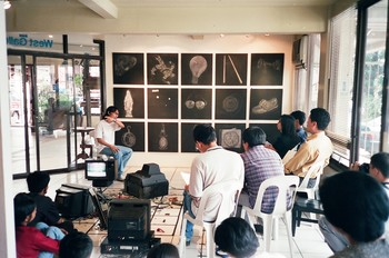 Alvin Zafra Presenting at Racing Thoughts