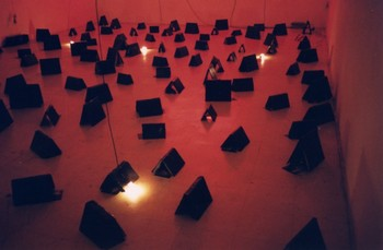 An Installation by Louie Cordero Presented at the Thesis Exhibition