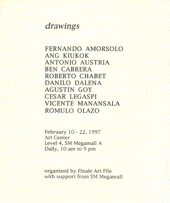 Drawings — Flyer