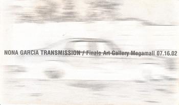 Transmission — Exhibition Invitation