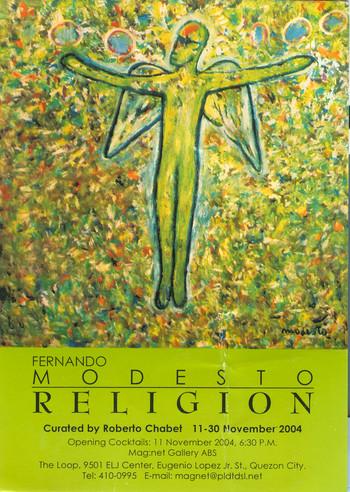 Religion — Exhibition Invitation