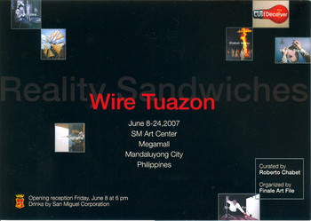 Reality Sandwiches — Exhibition Invitation