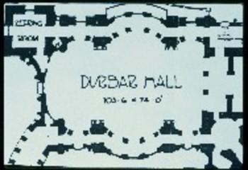 Ground plan of Victorial Memorial Hall, Calcutta