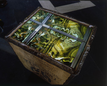Structures of Memory: Modern Bengal — Tea Chest (Detail)