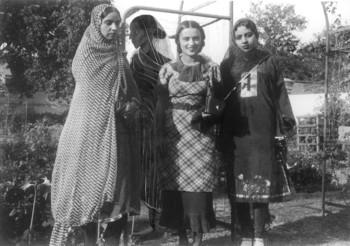 Amrita and Her Relatives with 'Painted Figure'