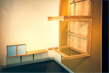 View of the Artist's Studio (Left Window, Right Window)