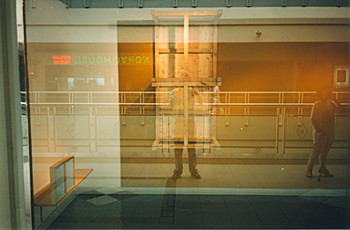 View of the Artist's Studio (Left Window, Right Window) (Exhibition view)