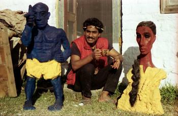 K.P. Krishnakumar in Kasauli Art Centre