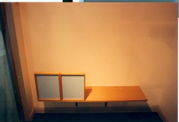 View of the Artist's Studio (Left Window, Right Window) (Detail)