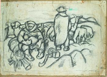 Guishan Series,Herding in Winter — Sketch