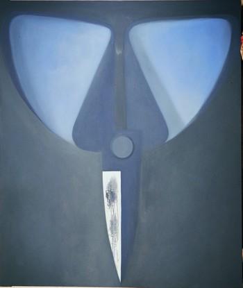 Blue ScissorsReversed