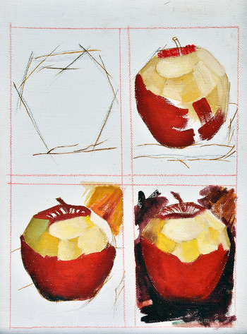 Apple Painting Lesson (Detail)