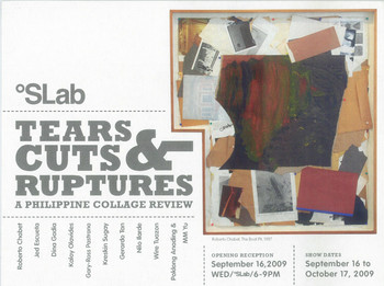 Tears, Cuts, Ruptures: A Philippine Collage Review — Exhibition Invitation