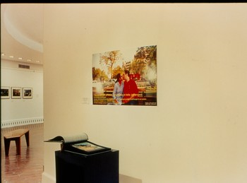 Yes We Can Kiss Privately and Publicly in India (Exhibition view)