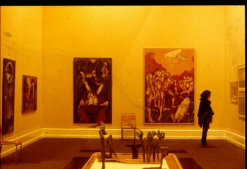 Contemporary Indian Art: An Exhibition of the Festival of India (Exhibition View)