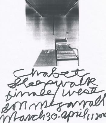 Sleepwalk (Exhibition Invitation)