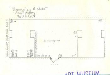 Drawings (Exhibition Floor Plan)