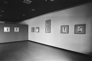 Ceche Collages (Exhibition View)
