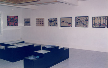 Works by Nguyen Van Cuong at Spring Color (Exhibition view)