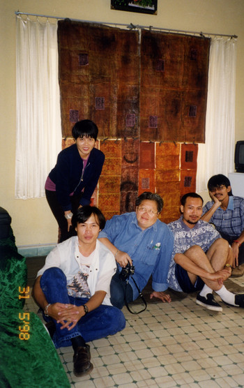 Participating artists of Meeting Point - Workshop of Thai & Vietnamese Artists