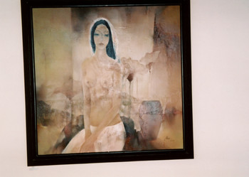 A Painting in the 'Club of Female Artists' Exhibition