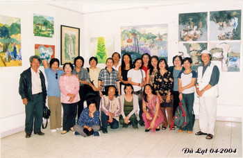 Workshop of 14 Female Artists in Da Lat