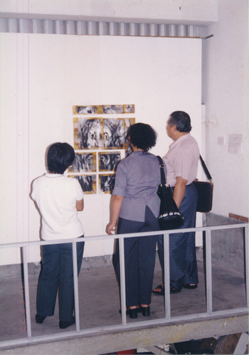 Ink Games and Improvizations (Exhibition View)