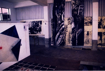 The Interaction of Ink Painting and Installation (Exhibition View)