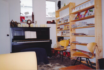Interior View of the Artist Commune