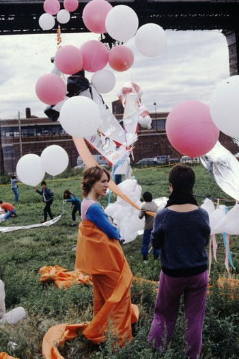 Installation Presented in Balloon Show