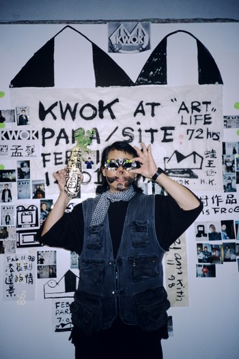 Kwok at Para/Site: Art Life for 72 Hours